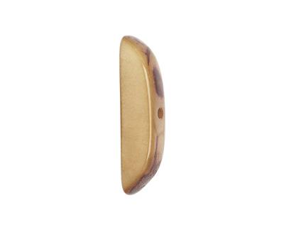 Tagua Nut Parchment Splinter (center-drilled) 7-8x28-35mm