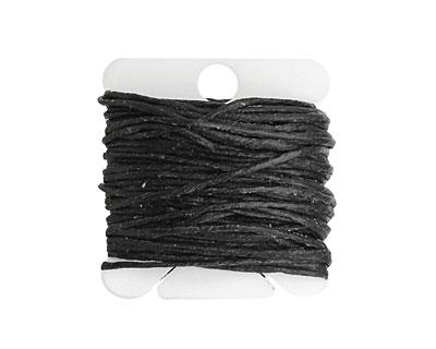 Black Irish Waxed Linen 7 ply