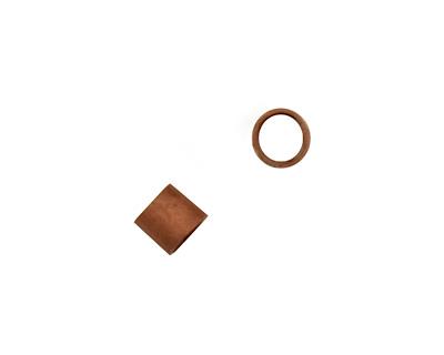 Antique Copper (plated) Crimp Tube 1x1.5mm