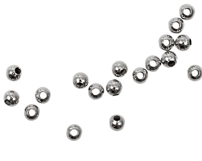 Silver (plated) Round 4mm