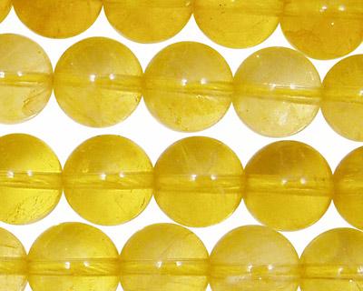 Yellow Fluorite (A) Round 12mm