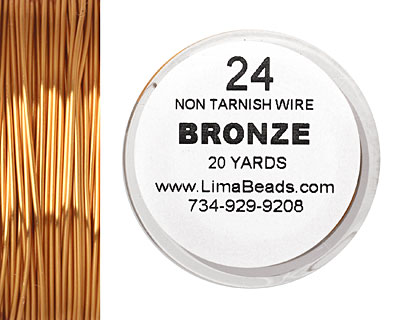 Parawire Bronze 24 gauge, 20 yards
