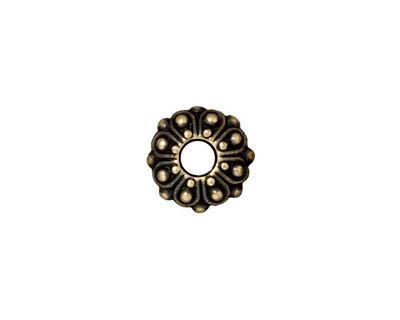 TierraCast Antique Brass (plated) Casbah Euro 5x11mm