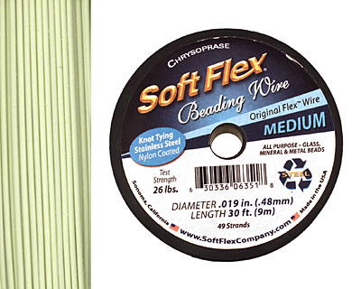 Soft Flex Chrysoprase .019