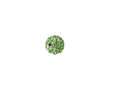 Shamrock Pave Round 8mm (1.5mm hole)