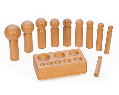 Large Wood Dapping Set w/ 10 Punches 16mm to 65mm