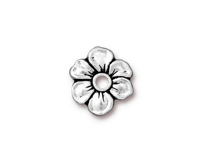 TierraCast Antique Silver (plated) Apple Blossom Rivetable 20mm