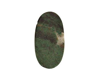 XingJiang Jade Oval Pendant 27-37x47-58mm