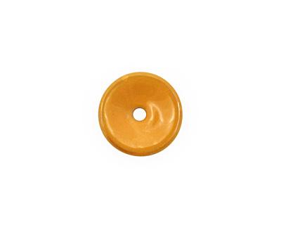C-Koop Enameled Metal Dark Mustard Chip 3-4x12-13mm