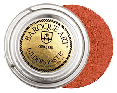 Coral Red Gilders Paste 30ml