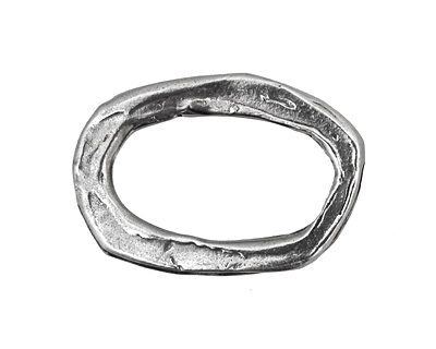 Rustic Charms Sterling Silver Large Oval Link 30x20mm
