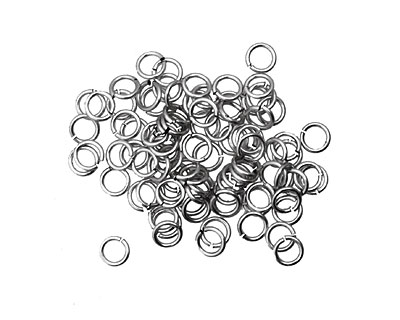 Artistic Wire Non-Tarnish Silver Chain Maille Jump Ring 3.57mm, 20 gauge