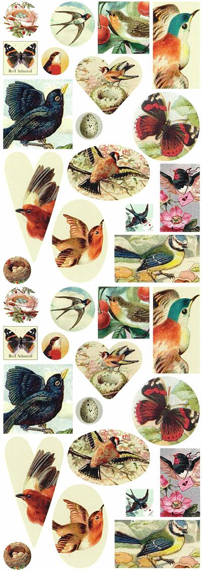 Nunn Design Nature Collage Sheet