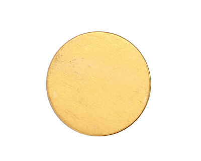 Brass Circle Blank 25mm