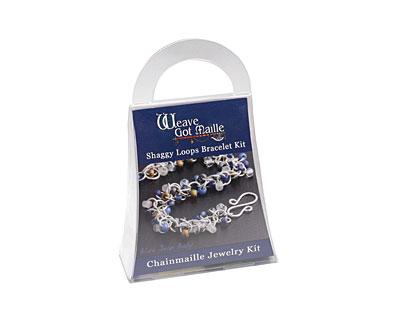 Weave Got Maille Blue Jean Baby Shaggy Loops Bracelet Kit