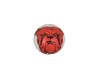 Trinket Foundry Red Dog Bottle Cap Puff Coin 15mm