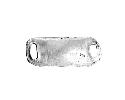 Rustic Charms Sterling Silver Heavy Link 40x16mm