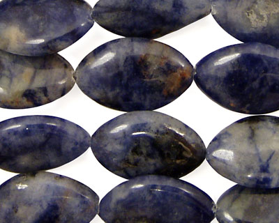 Dumortierite Horse Eye 19x12mm