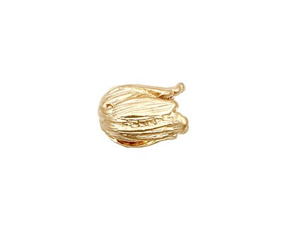 Ezel Findings Gold (plated) Small Tulip Bead Cap 13x9mm