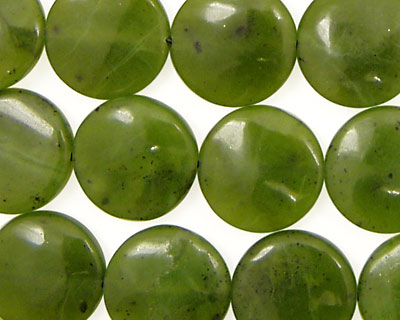 Canadian Jade Puff Coin 14mm