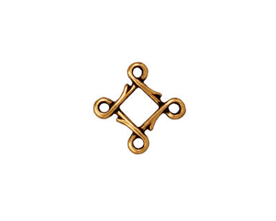 TierraCast Antique Gold (plated) Small Vine Link 12mm