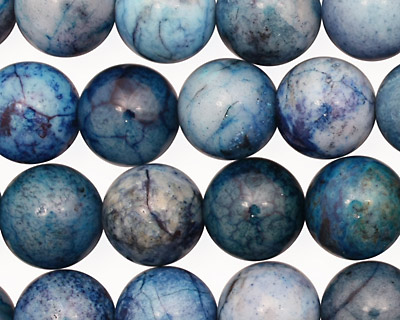 Brazil Blue Agate Round 12mm