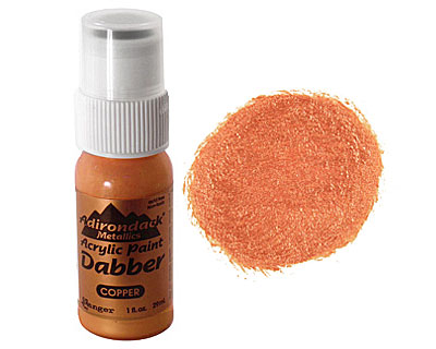 Adirondack Metallic Copper Acrylic Paint Dabber 29ml