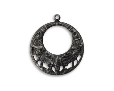 Vintaj Arte Metal Etrusia Ringlet Pendant 25x29mm