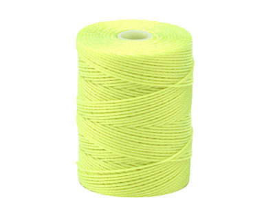 C-Lon Neon Yellow (.5mm) Bead Cord