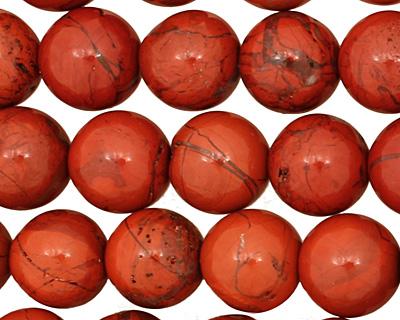 Red Jasper Round 12mm