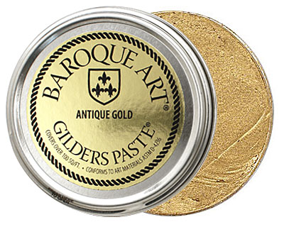 Antique Gold Baroque Art Gilders Paste 100ml