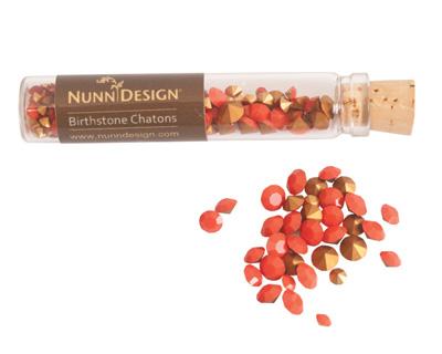 Nunn Design Coral Crystal Chaton 5g