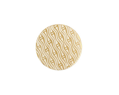 Lillypilly Gold Reeds Anodized Aluminum Disc 19mm, 22 gauge