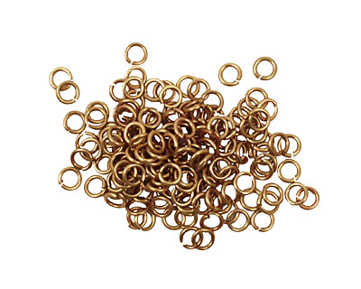 Artistic Wire Non-Tarnish Brass Chain Maille Jump Ring 2.78mm, 20 gauge