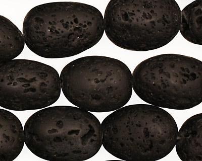 Lava Rock Tumbled Rice 14-20x12-15mm