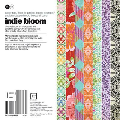 Indie Bloom Paper Pad 6