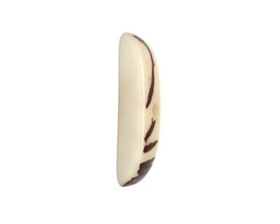 Tagua Nut Cream Splinter (center-drilled) 7-8x28-35mm