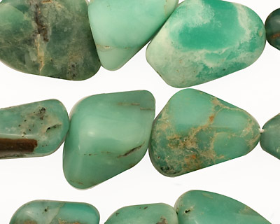 Chrysoprase Tumbled Nugget 13-22x10-15mm