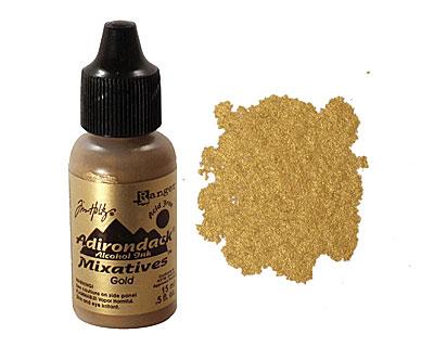 Adirondack Metallic Gold Mixative 15ml