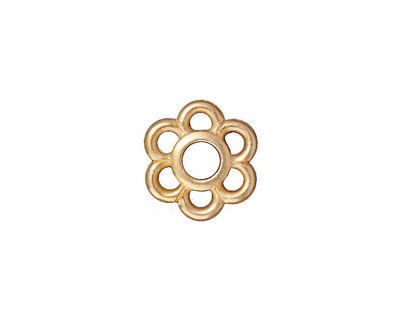 TierraCast Gold (plated) 6 Petal Link 14mm