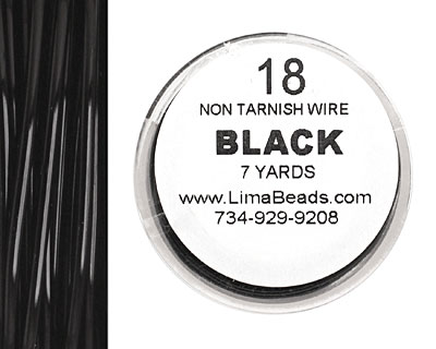 Parawire Black 18 gauge, 7 yards