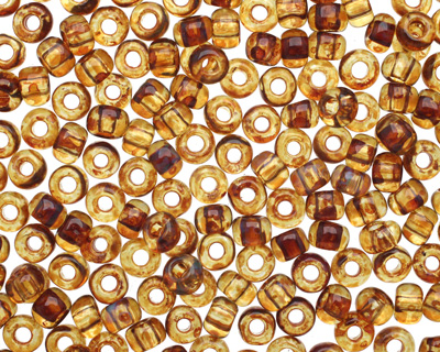TOHO Natural Picasso Hybrid Round 6/0 Seed Bead