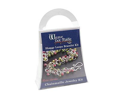 Weave Got Maille Rose Garden Shaggy Loops Bracelet Kit