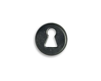 Vintaj Arte Metal Round Keyhole Decorivet 15mm