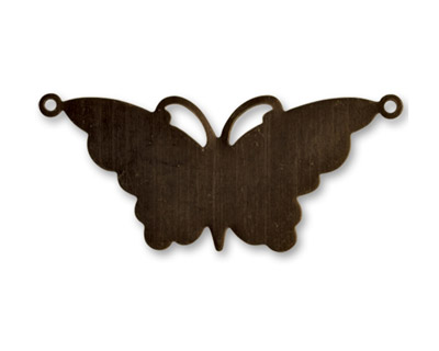 Vintaj Natural Brass Suspended Butterfly Altered Blank 47x20mm