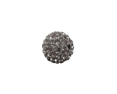 Black Diamond Pave Round 12mm (1.5mm hole)