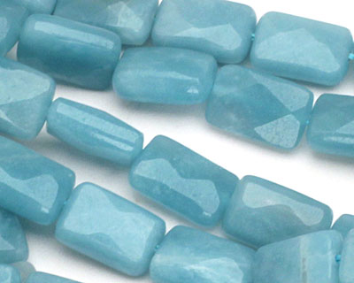 Amazonite Faceted Pillow 12x8mm