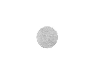 Lillypilly Silver Anodized Aluminum Disc 19mm, 22 gauge
