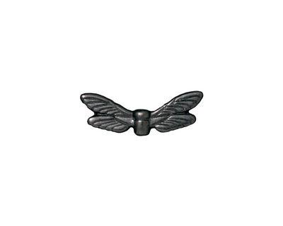 TierraCast Gunmetal Dragonfly Wings 7x20mm