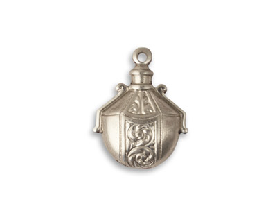Vintaj Pewter Etruscan Perfume 15x19mm